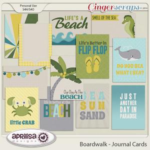 Boardwalk - Journal Cards