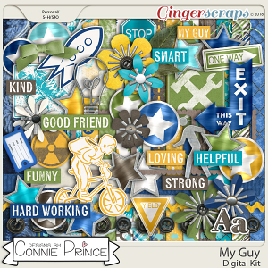My Guy - Kit by Connie Prince