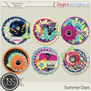 Summer Days Cluster Seals