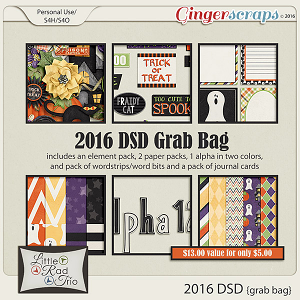2016 DSD Grab Bag by Little Rad Trio