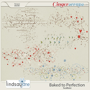 Baked to Perfection Scatterz by Lindsay Jane