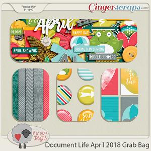 Document Life April 2018 Grab Bag by Luv Ewe Designs