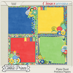 Pixie Dust - PreDeco Papers