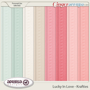 Lucky In Love - Krafties by Aprilisa Designs
