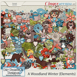 A Woodland Winter {Elements} by Day Dreams 'n Designs