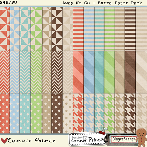 Retiring Soon - Away We Go: Extra Paper Pack by Connie Prince