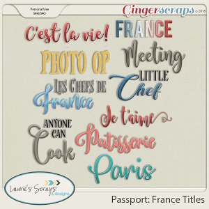 Passport: France Titles