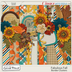 Fabulous Fall - Border Clusters