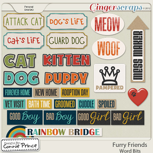 Furry Friends - WordBits