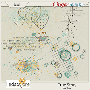 True Story Scatterz by Lindsay Jane