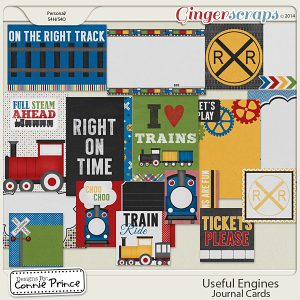 Useful Engines - Journal Cards