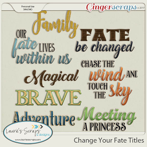 Change Your Fate Titles