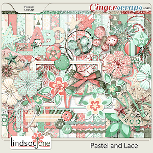 Pastel and Lace by Lindsay Jane