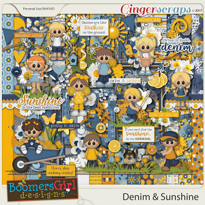 Denim & Sunshine by BoomersGirl Designs