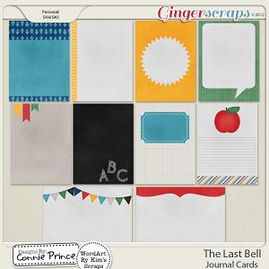 Retiring Soon - The Last Bell - Journal Cards