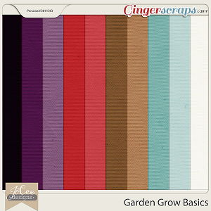Garden Grow Basic Papers by JoCee Designs