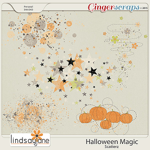 Halloween Magic Scatterz by Lindsay Jane