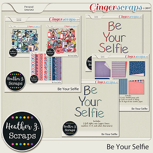 Be Your Selfie BUNDLE by Heather Z Scraps