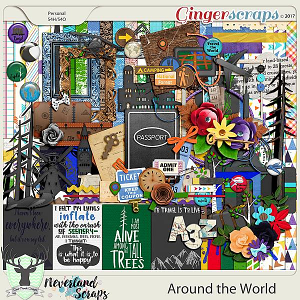 Around the World by Dear Friends Designs