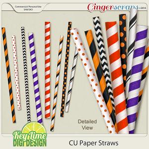 CU Paper Straws