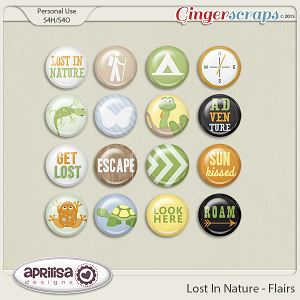 Lost In Nature - Flairs by Aprilisa Designs
