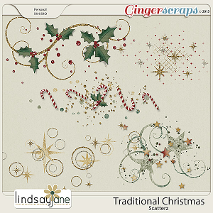 Traditional Christmas Scatterz by Lindsay Jane