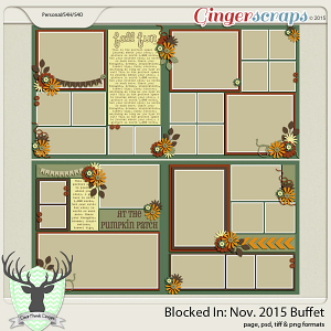 Blocked In: November 2015 Buffet