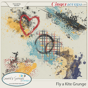 Fly a Kite Kit Grunge