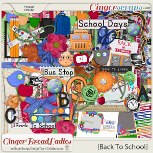 GingerBread Ladies Collab: Back To School