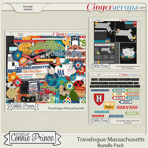 Travelogue Massachusetts - Bundle Pack
