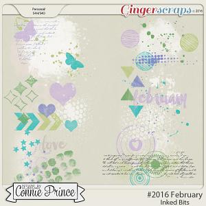 #2016 February - Inked Bits