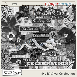 {HUES} Silver Celebration - Kit