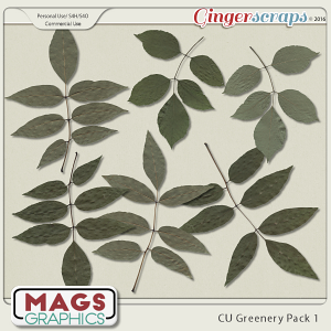 CU PNG Greenery Pack by MagsGraphics