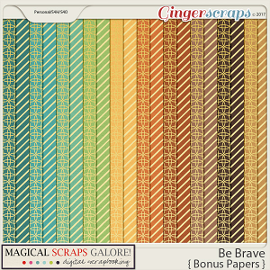 Be Brave (bonus papers)