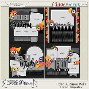 Titled Autumn Volume 1 - 12x12 Temps (CU Ok)