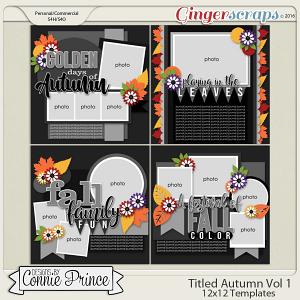 Titled Autumn Volume 1 - 12x12 Temps (CU Ok)