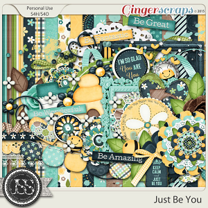 Just Be You Digital Scrapbook Kit