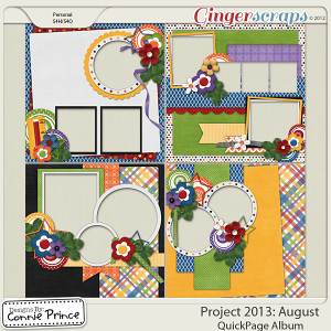 Project 2013: August  - QuickPages