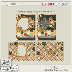 Roar - Printed Greeting Cards