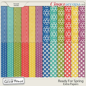 Ready For Spring - Extra Papers
