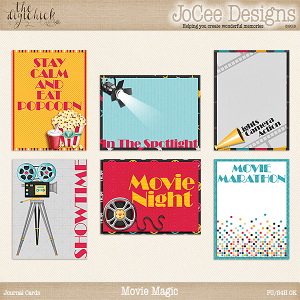 Movie Magic - Journal Cards