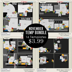 November 2014 Template Bundle