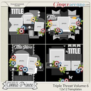 Triple Threat Volume 6 - 12x12 Temps (CU Ok)