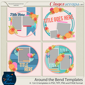 Around The Bend Templates