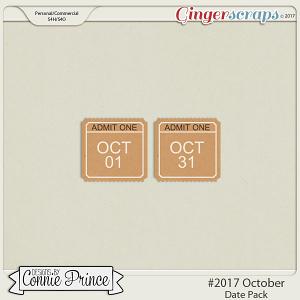 #2017 October - Date Pack