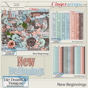 New Beginnings {Bundled Collection} by Day Dreams 'n Designs