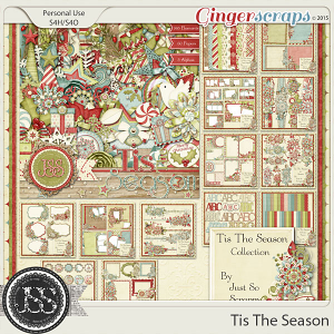 Tis The Season Digital Scrapbooking Collection