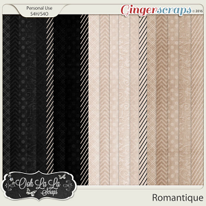 Romantique Pattern Papers