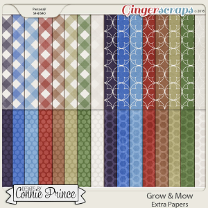 Grow & Mow - Extra Papers
