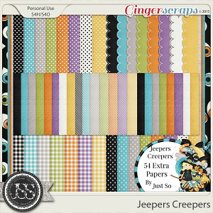 Jeepers Creepers Pattern Papers